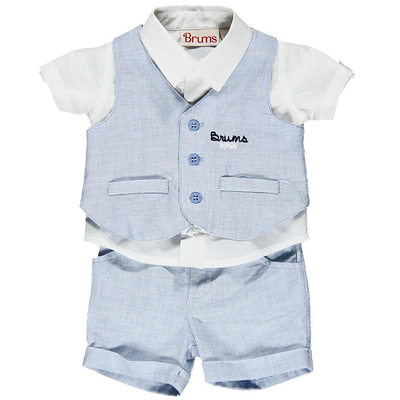 Детский комплект для мальчика BRUMS Италия 141BBEA009 Голубой