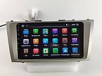 """Штатная Магнитола Toyota Camry 40 2007-2011 на Android 8.1  с 9"""" Экраном 1/16Память,4 ядра Процессор"""