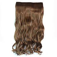 Искусственные волосы на заколках волнистые. Цвет #10 Русый, фото 1