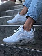 Женские кроссовки Nike Air Max 720 Space White, Реплика, фото 1