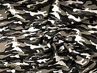 Трехнитка принт Турция Камуфляж (белая ночь), фото 1