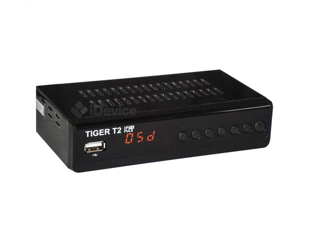 Тюнер Tiger T2 IPTV Plus +MeeCast