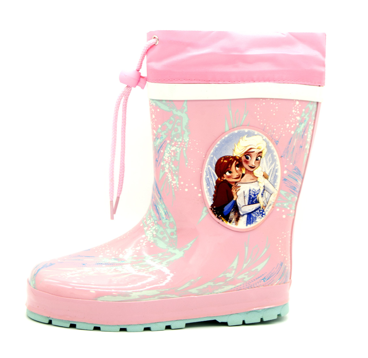 Резиновые сапоги для девочки Розовые Размеры: