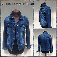 """Куртка джинсовая женская приталенная размеры S-XL """"Jeans Style"""" купить оптом в Одессе 7 км"""