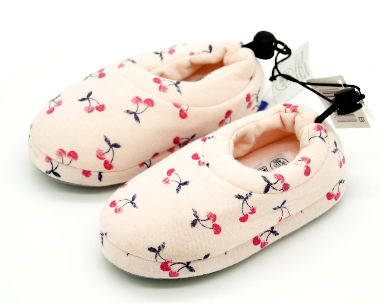 Комнатные тапочки для девочки Disney Германия Розовые