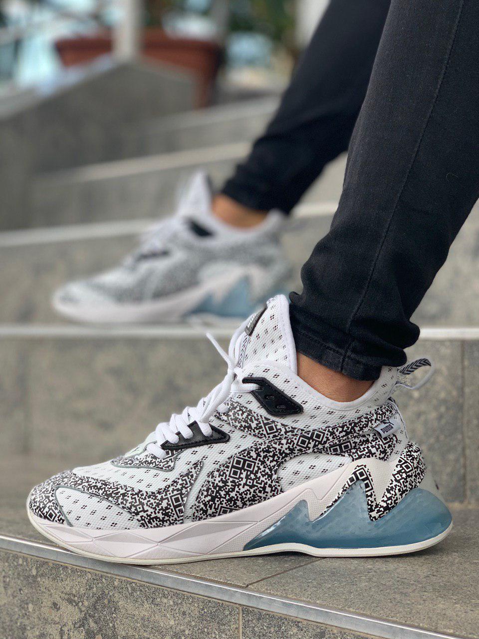 Чоловічі кросівки Puma White, Репліка