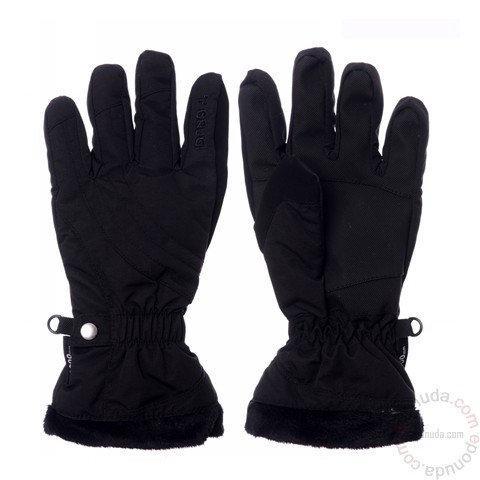 Дитячі рукавички для дівчинки BRUGI Італія JE18 чорні