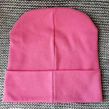 Шапка весна-осень розового цвета ТМ  (Украина)  размер  50 52, фото 2