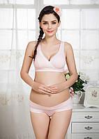 Комплект белья для беременных и кормящих мам Pink