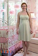 Ночная сорочка для беременных и кормящих (горох)