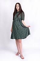 Платье для беременных и кормящих мам Penny (цвет папоротника)