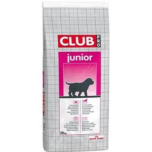 Корм для щенков и кормящих собак крупных пород Royal Canin CLUB PRO JUNIOR 20 кг
