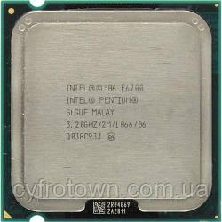 Процесор Intel Pentium E6700 2x3.2GHz 1066 2MB s775 бу
