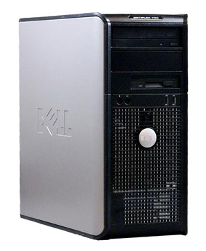 Dell OptiPlex 760, 4 ядра Intel Xeon 3323 2.5 Ггц, 8 Гб ОЗУ