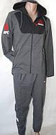 Мужской спортивный костюм Reebok с капюшоном (Р. 46-54) .оптовая продажа со склада на 7км(одесса)