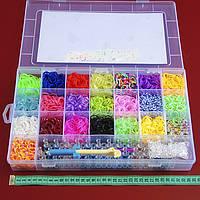 Набор Rainbow Loom Bands 5800 резинок + станок ПРОФИ