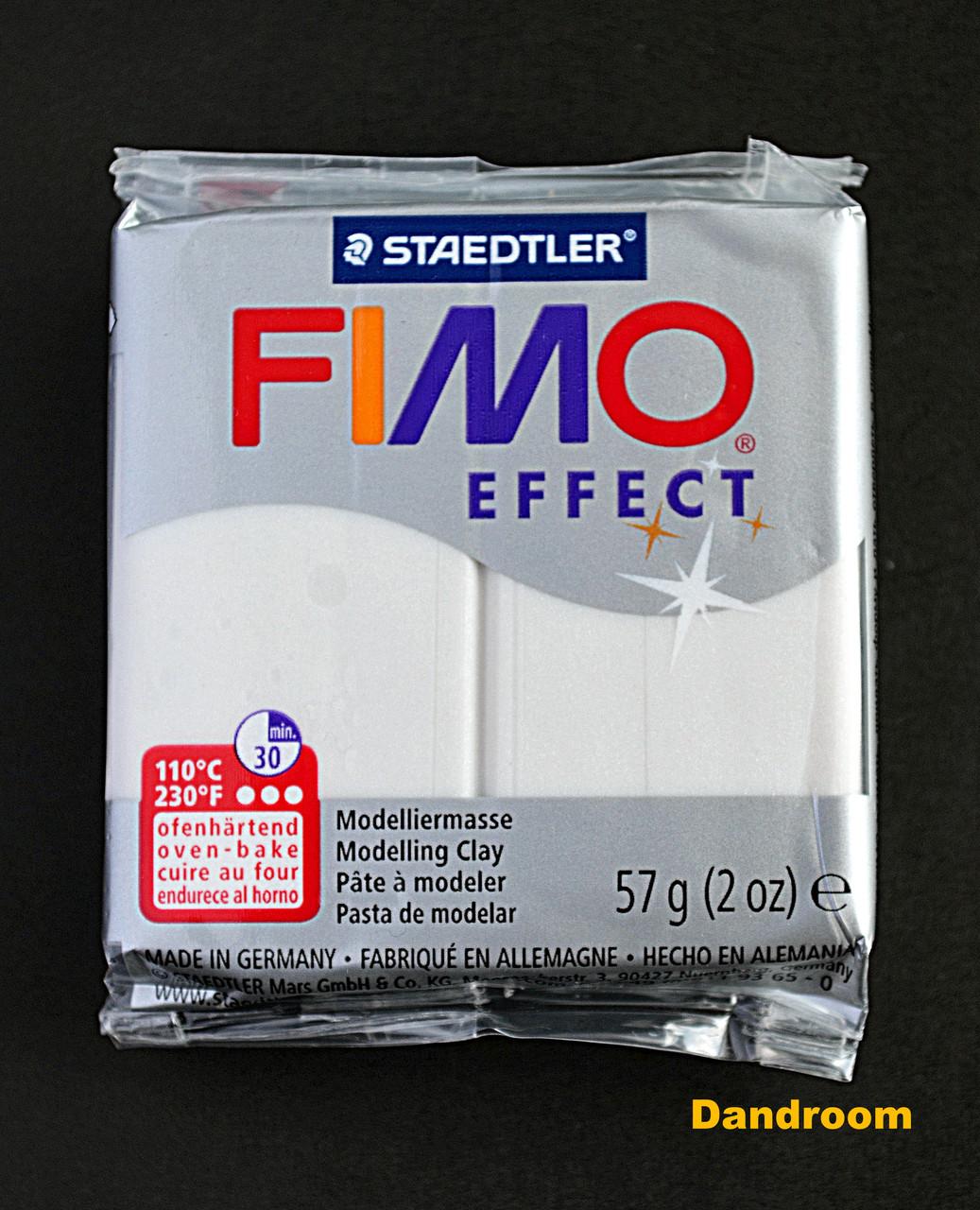 Пластика Effect, Перламутровая, металлик, 57 г, Fimo