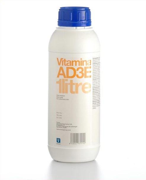 Витамин АД3Е 5 л. Инвеса (Испания) водорастворимый комплекс витаминов орального применения