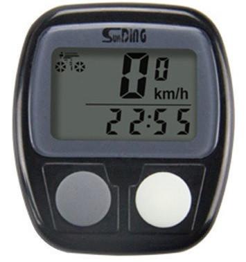 Велокомпьютер водонепроницаемый SD-536B, 14 функций