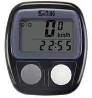 Велокомпьютер водонепроницаемый SD-536B, 14 функций, фото 1