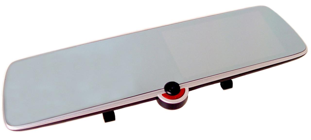"""Видеорегистратор зеркало DVR C33 с тремя камерами 5"""""""