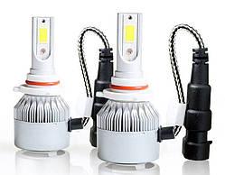 Комплект автомобільних LED ламп C6 в туманки 9005