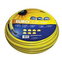 Шланг садовый Tecnotubi Euro Guip Yellow для полива диаметр 1/2 дюйма, длина 50 м (EGY 1/2 50), фото 1