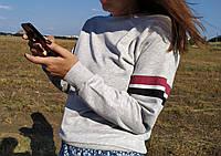 Женская кофта серая Турция новая мод. (размеры в описании) Busem