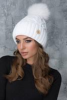 Красивая белая шапочка Рима