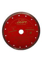 018 Диск CRAFT відрізний алмазний гарячого пресування  з ромбоподібним різцем 180*25,4/22,2*1,5*10mm