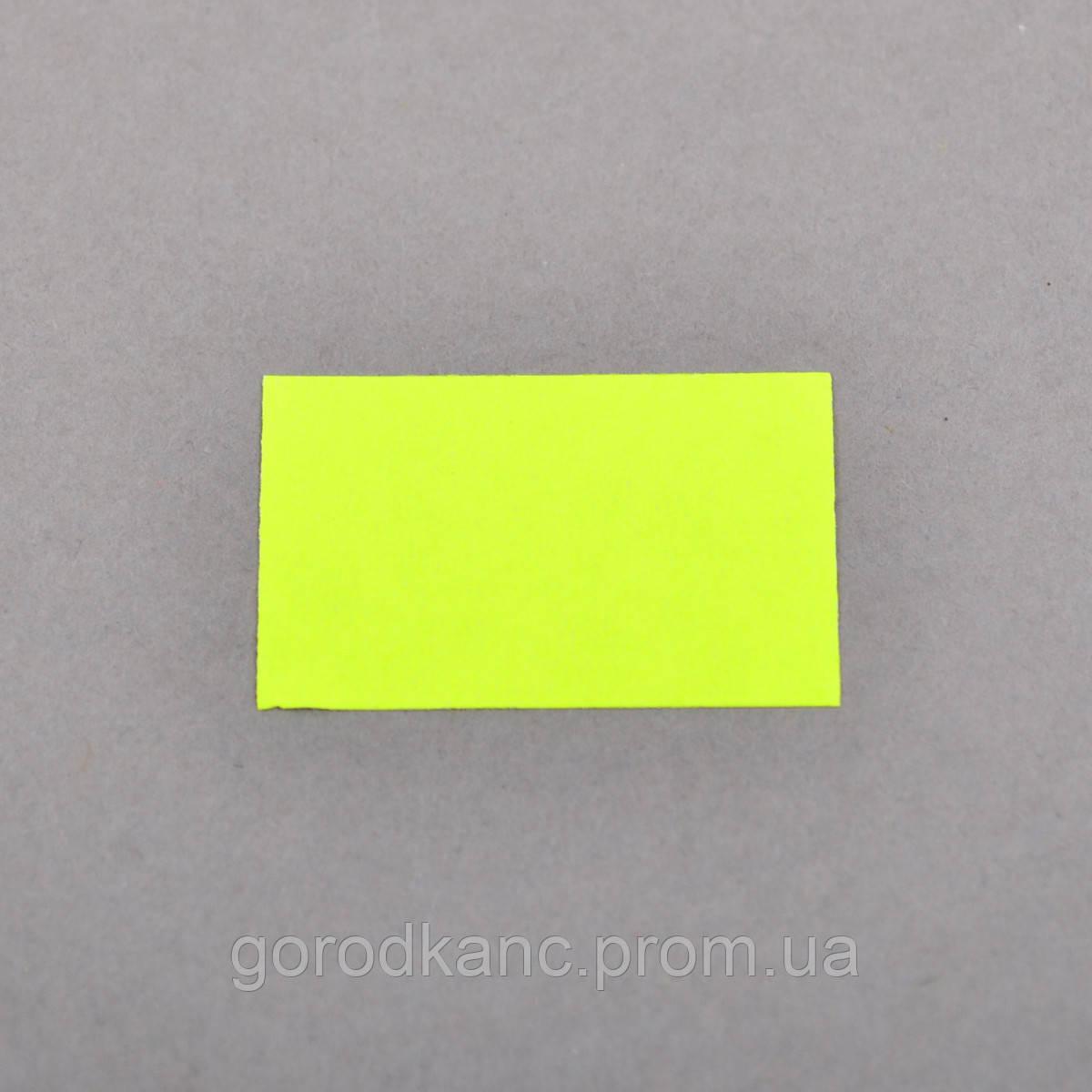 Цінник Datum флюо TCBL2616 5,60м прям.350шт/рол (жовт.) - фото 2