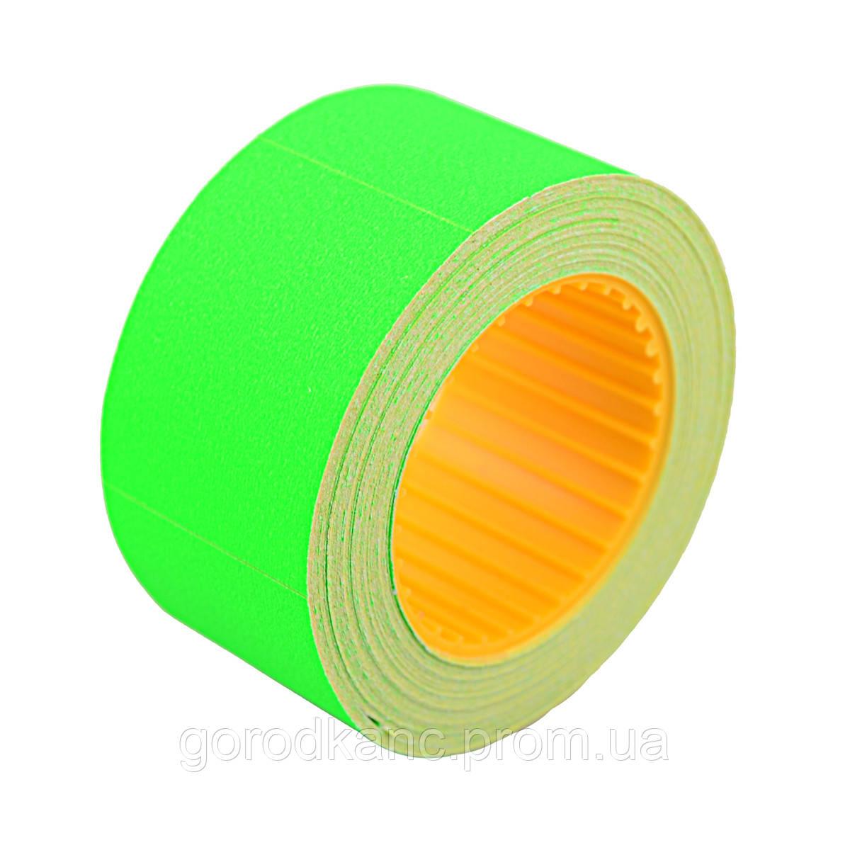 Цінник Datum флюо TCBIL3040 8,00м, прям.200шт/рол (зел.) - фото 1