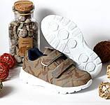 Кроссовки Хаки Fashion 27 – стелька 16 см, 28 – стелька 17 см, 29 – стелька 17,5 см, фото 7