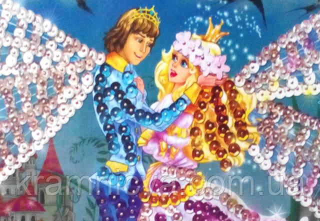Картина мозаика из пайеток (блестками) купить Крамниця Творчості