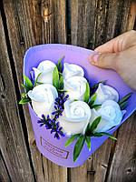 Троянди з мила Букет ручної роботи 420 г (000614)