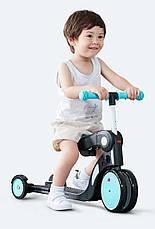 Детский биговел-трансформер Xiaomi BEBEHOO DGN 5-1 Черный / Голубой, фото 3
