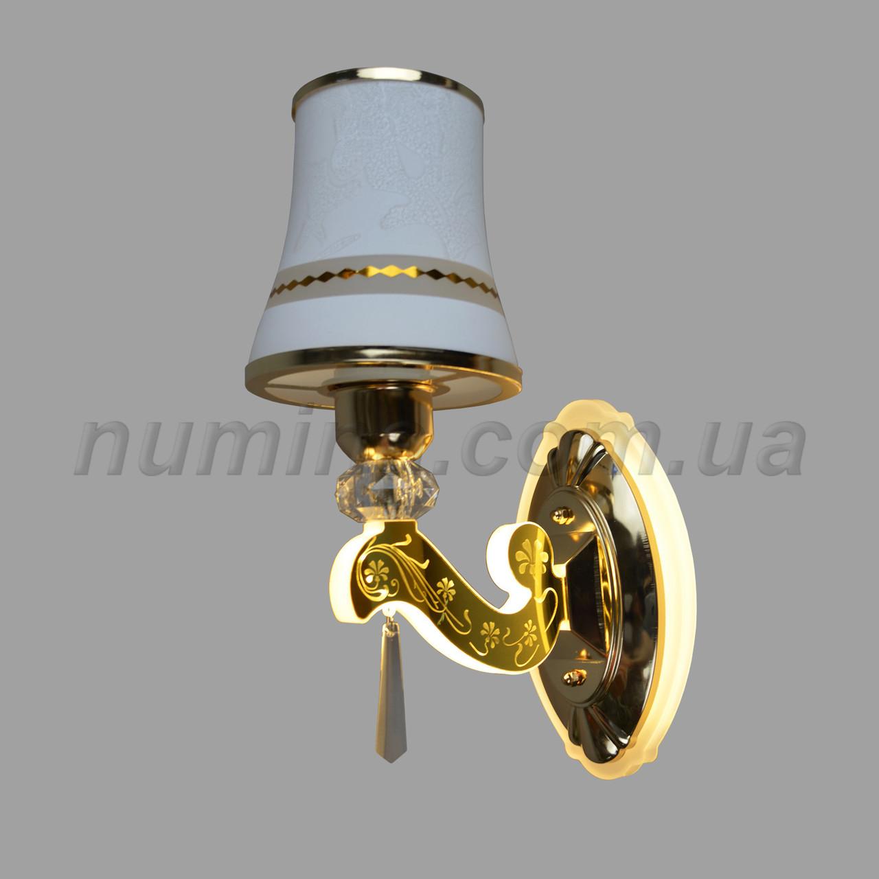 Бра на одну лампу+LED HQ-2108/1W FGD
