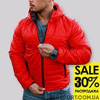 Куртка стеганная осеняя Hot-красная