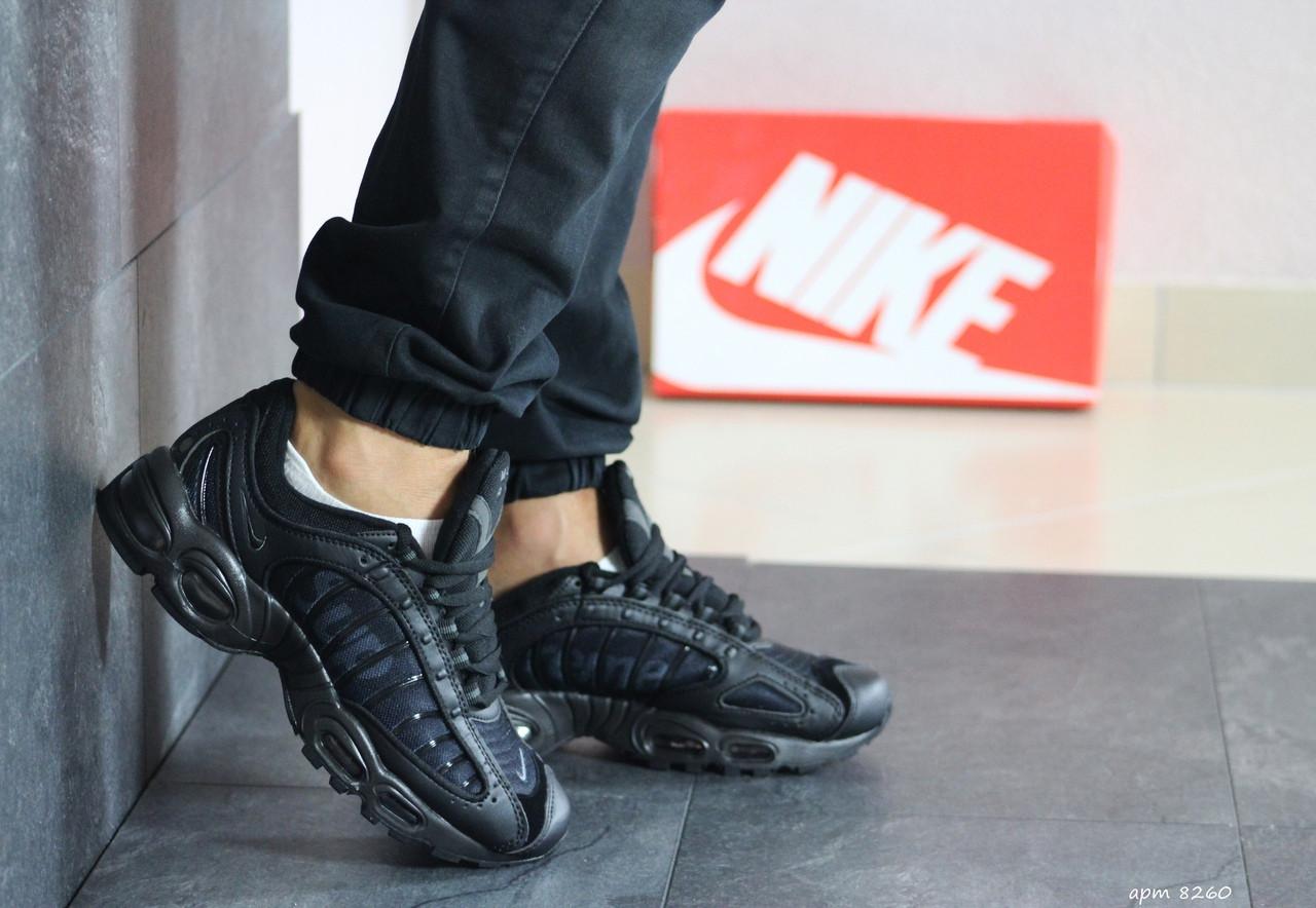 Мужские демисезонные кроссовки Nike Supreme,черные