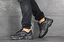 Мужские демисезонные кроссовки Nike Supreme,черные, фото 2