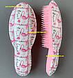Расческа для волос женская Flamingo and Flowers, фото 4