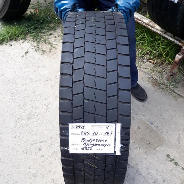 Грузовые шины б.у. (грузовая резина бу) 265.70.r19.5 Bridgestone M729 Бриджстоун