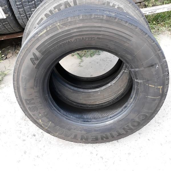 Шины б.у. 265.70.r19.5 Continental HSR Континенталь. Резина бу для грузовиков и автобусов