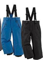 Детские термо-штаны,полукомбинезон мальчику и девочке lupilu 98\104