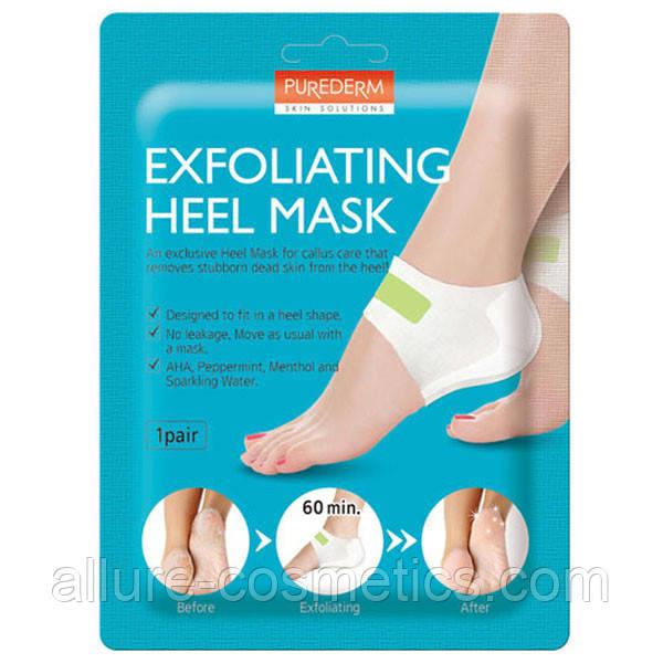 Маска для пяток PUREDERM Exfolaiting Heel Mask