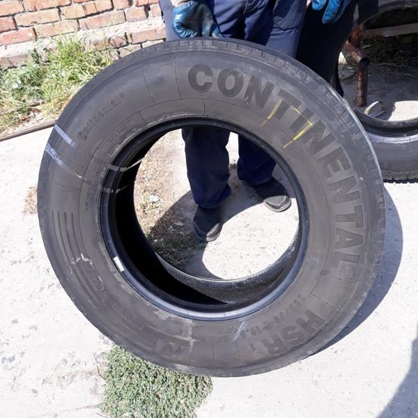 Грузовые шины б.у. / резина бу 285.70.r19.5 Continental HSR1 Континенталь