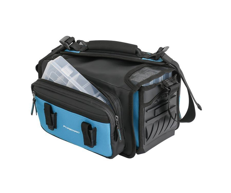 Сумка спиннинговая Flagman Lure Bag с 4 коробками 29х27х20см