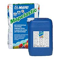 Гідроізоляційна суміш Mapei Mapelastic к-кт 32(24+8)кг, для терас, балконів, душових, фото 1