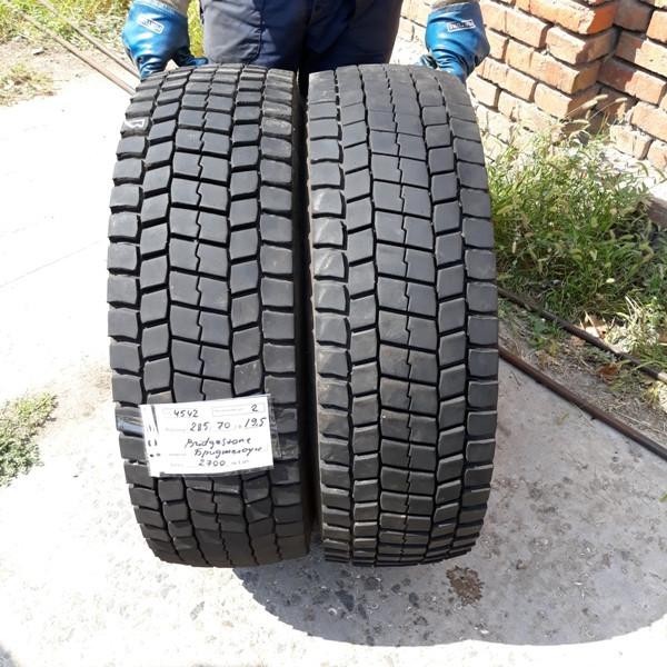 Грузовые шины б.у. / резина бу 285.70.r19.5 Bridgestone M729 Бриджстоун