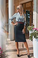 Платье / креп-дайвинг, софт / Украина 40-1020, фото 1